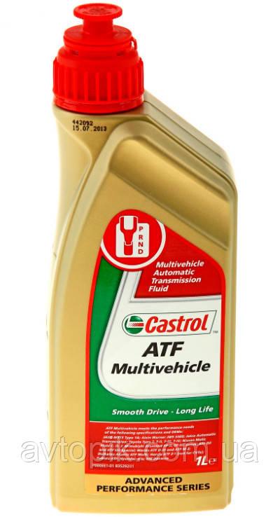 Трансмиссионное масло Castrol ATF Multivehicle (1 л.)
