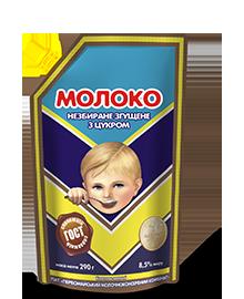 Молоко цельное сгущенное 8,5% 290г Первомайский МКК