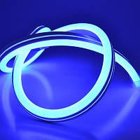 Гибкий Лед Неон Neon Flex 220v SMD3528 8w Синий