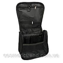 Косметичка/несессер дорожная раскладная подвесная унисекс Travel Bag/black, фото 2