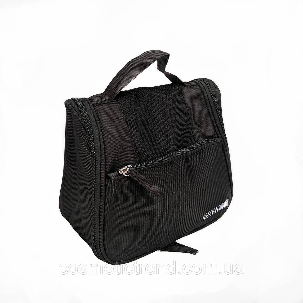 Косметичка/несессер дорожная раскладная подвесная унисекс Travel Bag/black