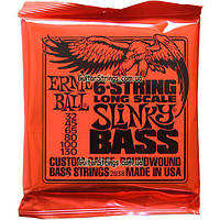 Струны Ernie Ball 2838 Long Scale Bass 6-String 32-130