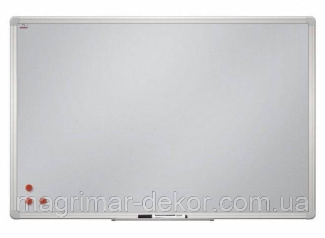 Доска магнитно-маркерная в алюминиевой рамке с матовой поверхностью