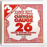 Струна Ernie Ball 1126 Nickel Wound .026 (электро), фото 4