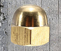 Гайка колпачковая М20 из латуни ГОСТ 11860-85, DIN 1587