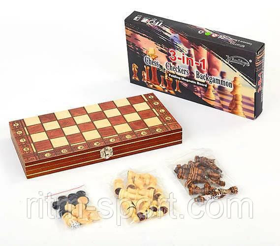 Шахматы Шашки Нарды (размер доски 39 х 39)