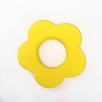 Колечко - Цветок (силиконовое) - Желтый