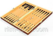 Шахматы Шашки Нарды (размер доски 39 х 39), фото 3