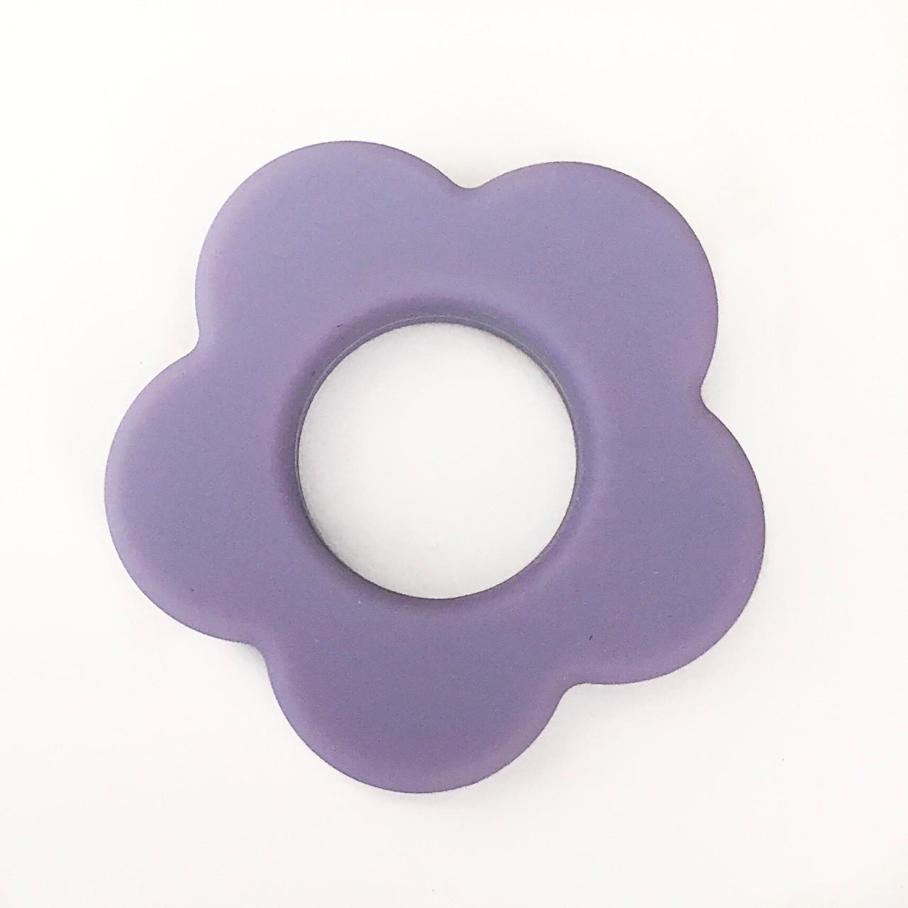 Колечко - Цветок (силиконовое) - Серенити - EASY HOBBY. Силиконовые бусины и фурнитура в Одессе