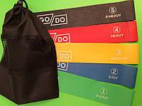 Набор резиновых петель  из 5 шт в сумочке
