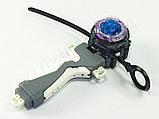 Іграшка-дзига БейБлейд Вибух BeyBlade Burst з ручкою Twin Nemesis Твін Немесис В102, фото 3