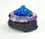Іграшка-дзига БейБлейд Вибух BeyBlade Burst з ручкою Twin Nemesis Твін Немесис В102, фото 6