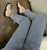 Женские летние брюки-штаны в полоску., фото 1