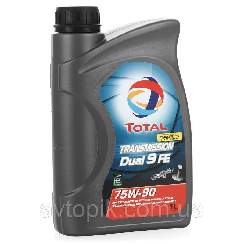 Трансмиссионное масло Total Transmission Dual 9 FE 75W-90 (1л.)