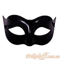 Маска карнавальная мужская, черная