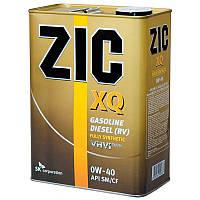 Моторное масло ZIC XQ 0W-40 (4л.)