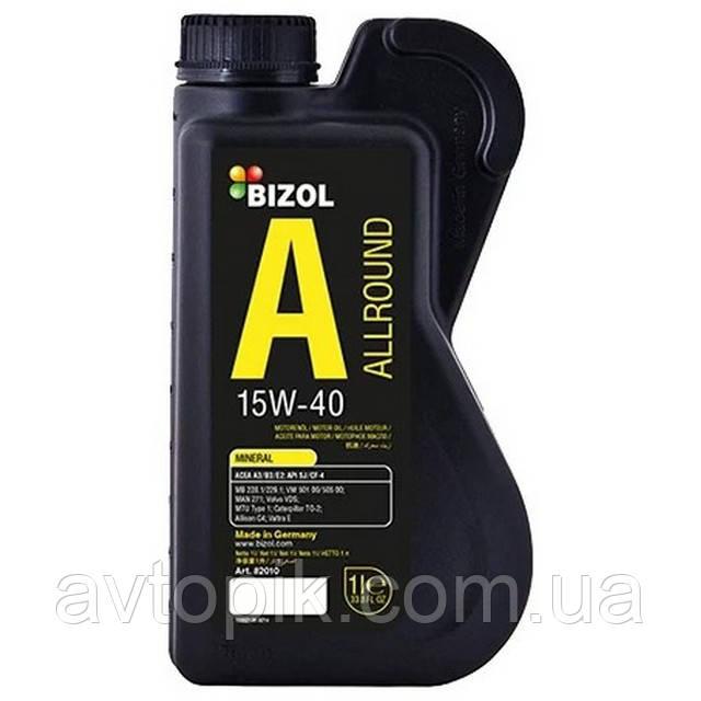 Моторное масло Bizol Allround 15W-40 (1л.)