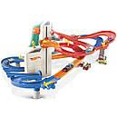 Детский авто трек Хот Вилс Автоматический скоростной лифт 4 в 1 + 10 машинок, Auto Lift Expressway Hot Wheels, фото 2