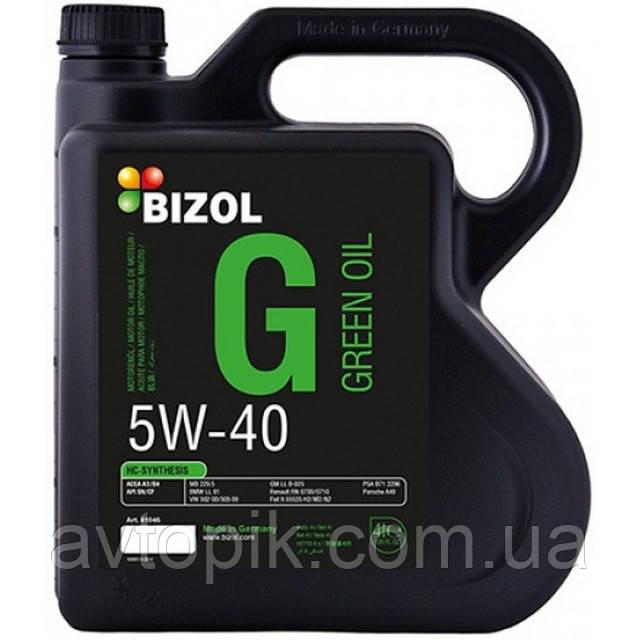 Моторное масло Bizol Green Oil 5W-40 (4л.)
