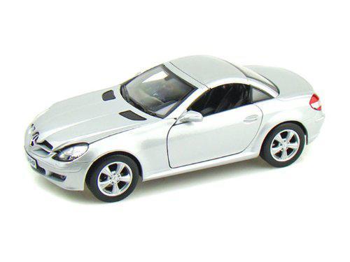 Автомодель Welly 22462 1:24 Mercedes-Benz SLK350 1/24 Silver convertible