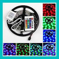 Лента светодиодная разноцветная LED 3528 RGB комплект!Опт