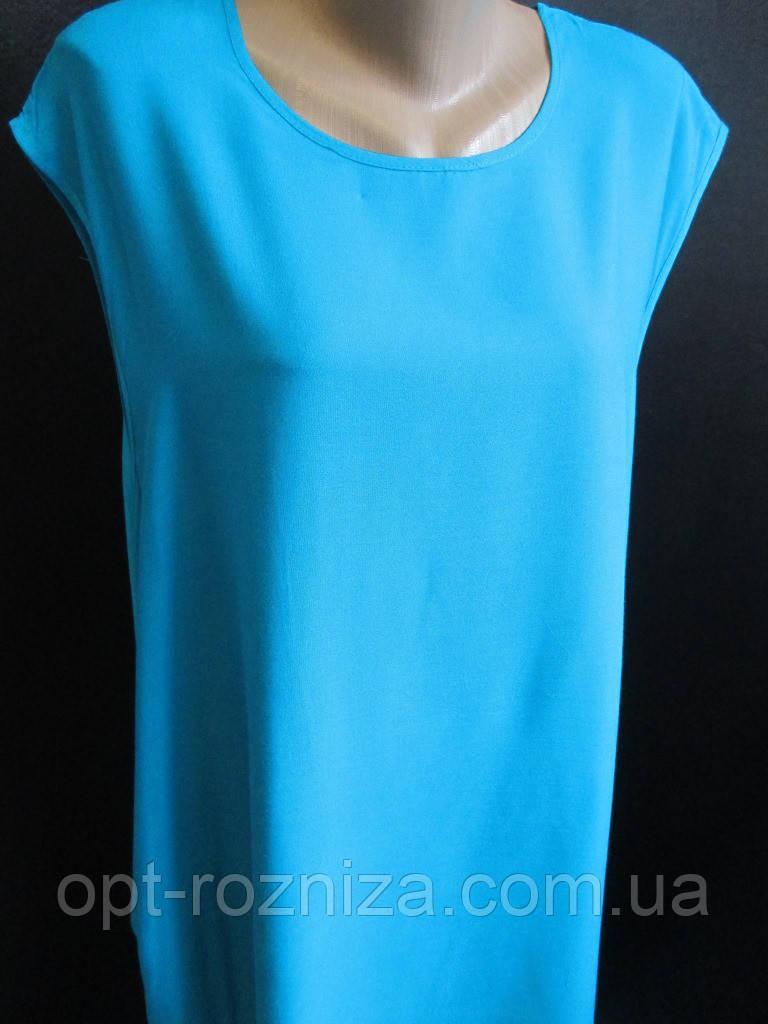 Женские штапельные платья однотонного цвета.