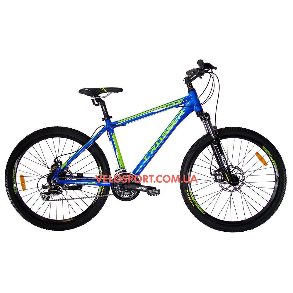Горный велосипед Crosser Banner 29 дюймов синий