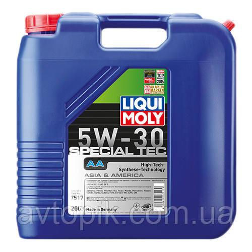 Моторное масло Liqui Moly Special Tec AA 5W-30 (20л.)