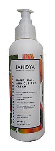 Крем для рук, ногтей и кутикулы TANOYA 200 мм