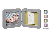 Подвійна рамочка Baby Art з відбитком Сіра, фото 1