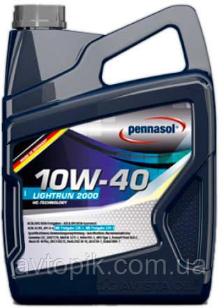 Моторное масло Pennasol Lightrun 2000 10W-40 (5л.)