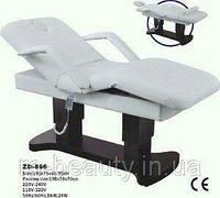 Стационарный Массажный стол + Массажная кушетка электрическая ZD 866