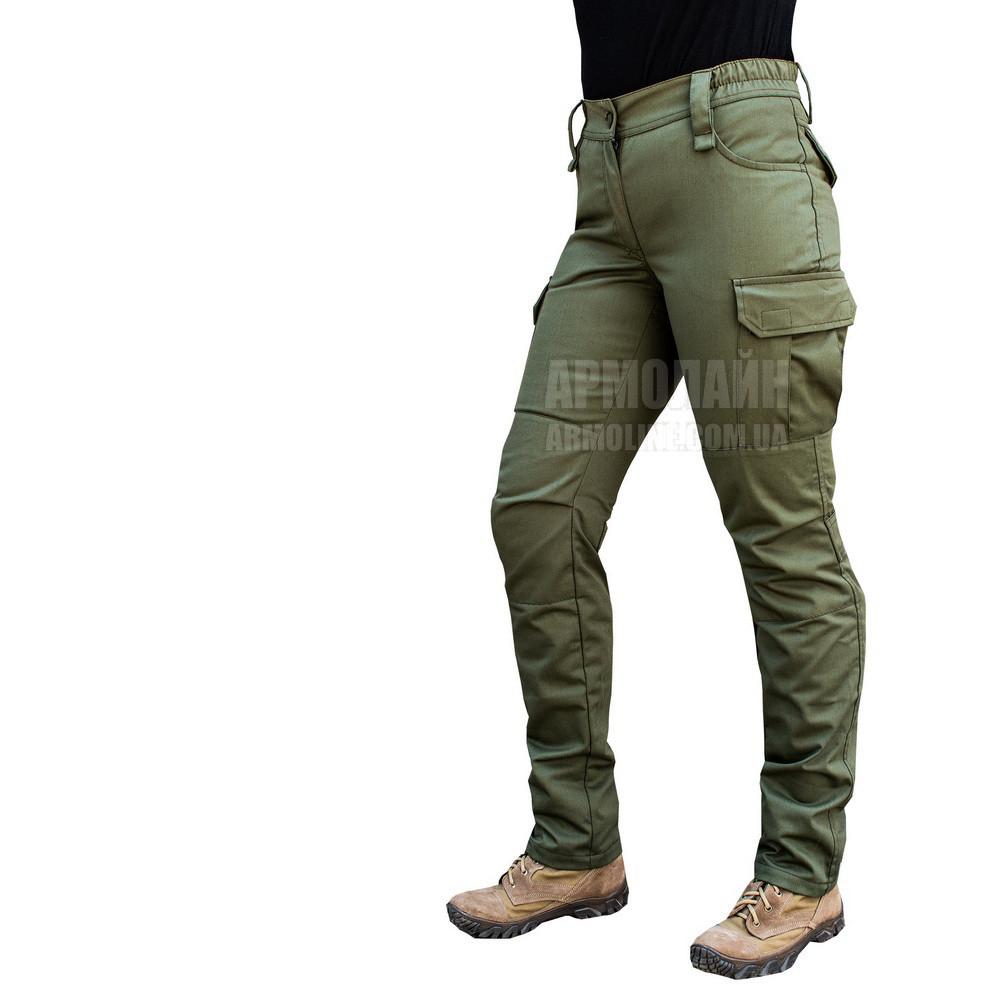 "Женские милитари брюки ""PANTERA"" OLIVE, 54 размер"