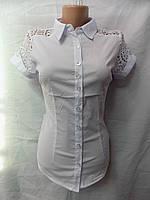 Женская блузка школа 8001 Фабричный Китай оптом