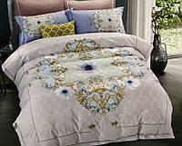 Комплект постельного белья евро сатин 40 Prestij Textile 93931