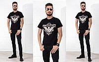 Мужская футболка Armani Jeans (46-52) 77П16953