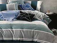Комплект постельного белья евро сатин 40 Prestij Textile 94752