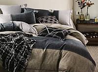 Комплект постельного белья евро сатин 40 Prestij Textile 94801