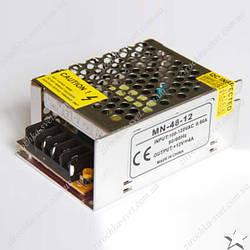 Блок питания для светодиодной ленты 12в 48вт 4А IP20 compact негерметичный MOTOKO