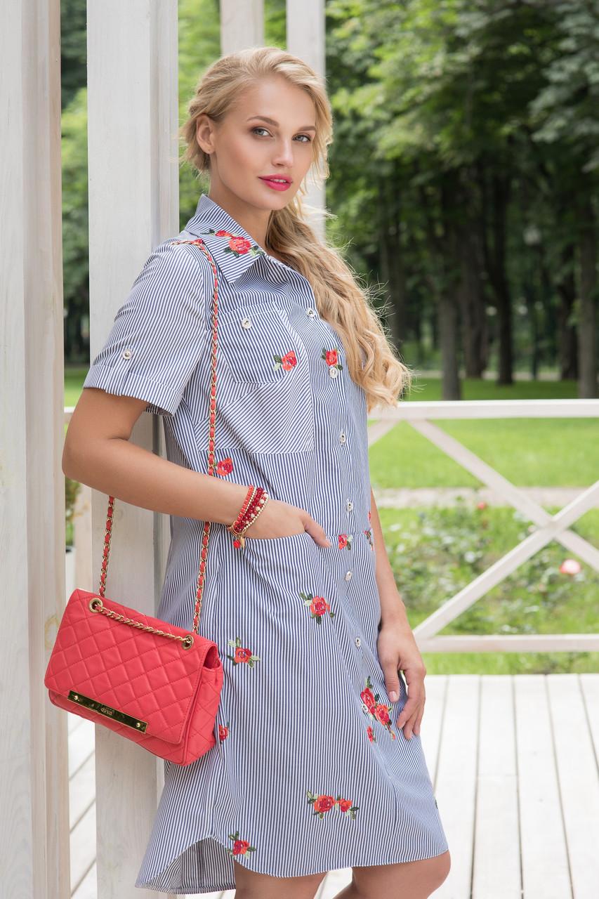Платье рубашка Фредерика р 50-56