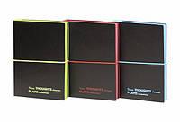 Блокнот А5, 144 листа, клетка, мягкая обложка, на резинке, Wilhelm Büro, WB-5617, 5056175
