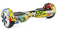 "Гироборд Smart Balance Wheel 6,5"" Граффити жёлтый"