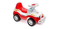 Машинка для катання ДЖИПІК червоний з білим, Оріон 105, фото 1