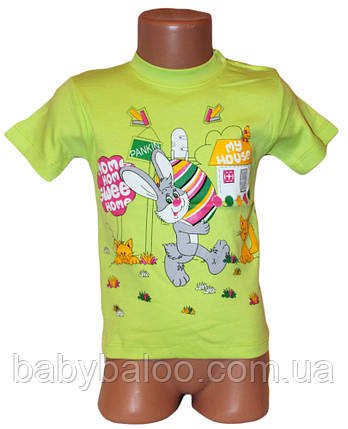 Крутая детская футболка  кнопка унисекс (от 1 до 4 лет), фото 2