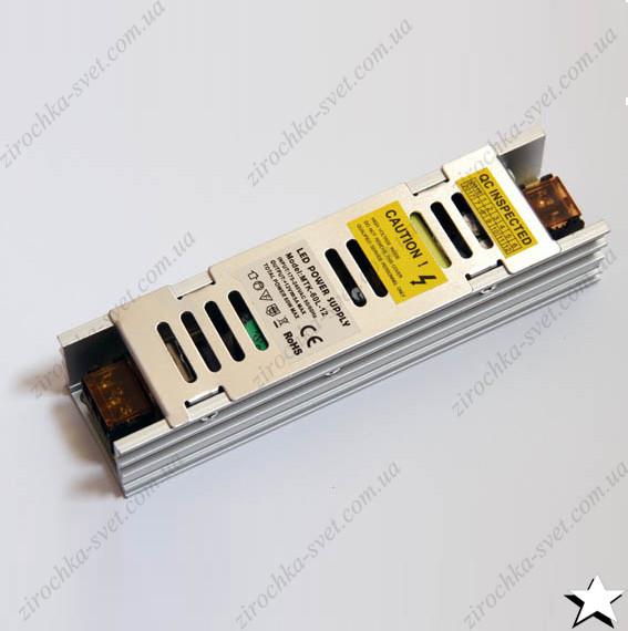 Блок питания для светодиодной ленты 12в 60вт 5А IP20 LONG негерметичный MOTOKO