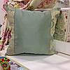 """Декоративная подушка """"Браво и Ревю"""" 45х45 комбинированный: наволочка на молнии, наполнитель холлофайбер"""