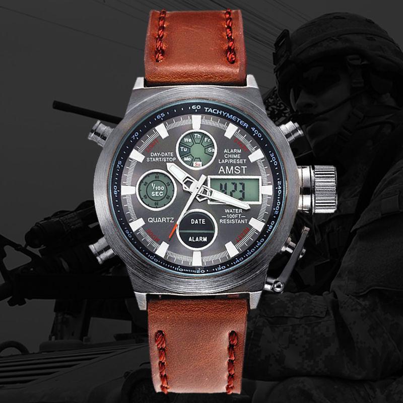 9df4bb436146 Мужские наручные часы AMST II Watch, армейские часы АМСТ, наручные часы AMST  2