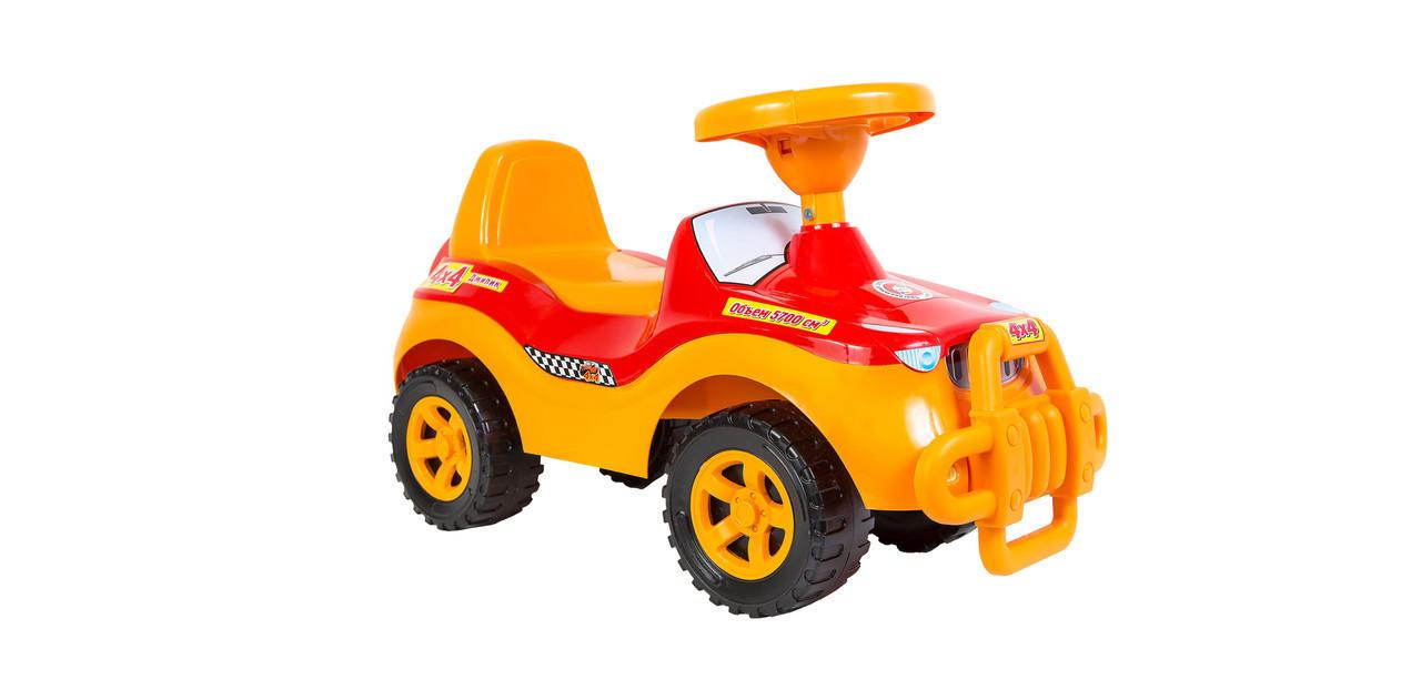 Машинка для катання ДЖИПІК помаранчевий, Оріон 105