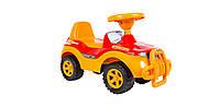Машинка для катання ДЖИПІК помаранчевий, Оріон 105, фото 1