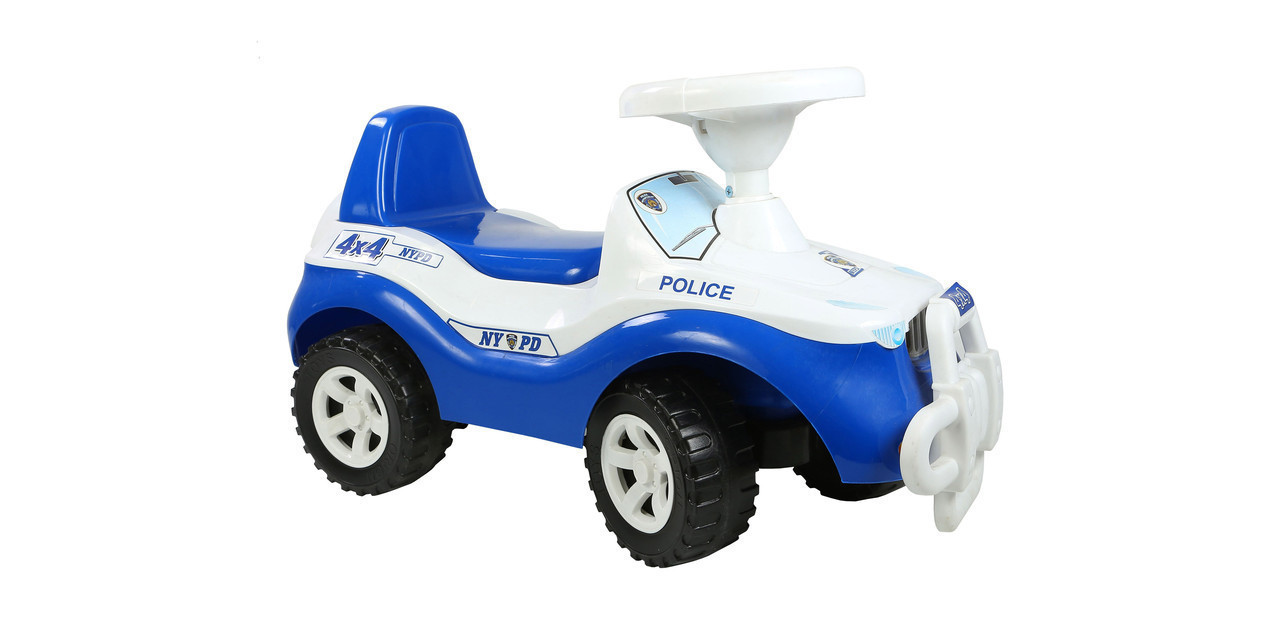 Машинка для катання ДЖИПІК синій з білим, Оріон 105